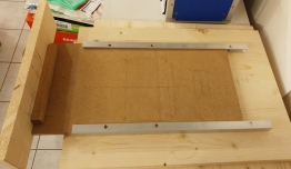 Schublade für den Drucker